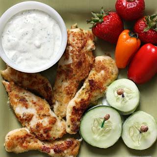 Parmesan Ranch Chicken Tenders