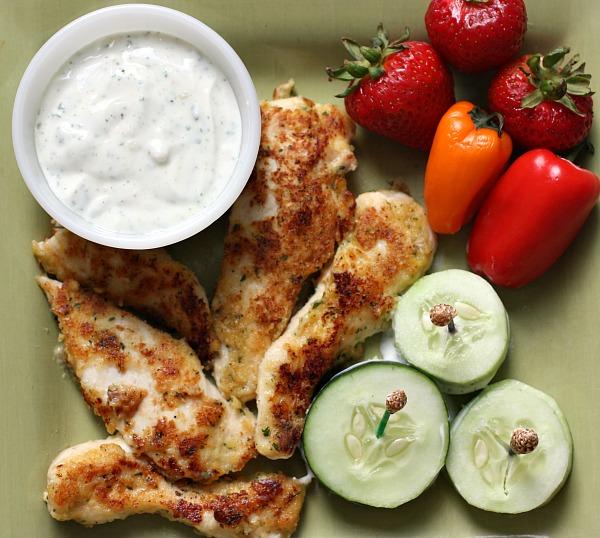 Parmesan Ranch Chicken Tenders Recipe