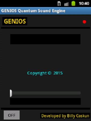 android Genios Quantum Sound Engine Screenshot 2