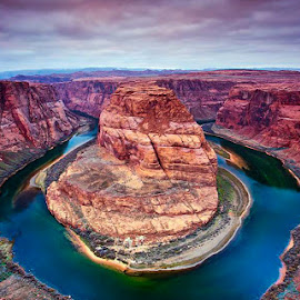 Horseshoe  Bend by Rafi SM - Landscapes Mountains & Hills ( nature, arizona, canyon, horseshoe bend, landscape, antelope canyon )