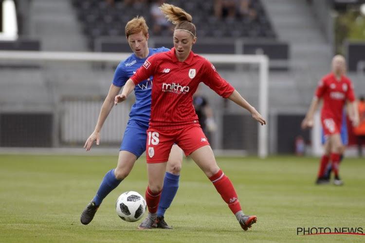 Super League: le Standard Femina et Anderlecht se détachent