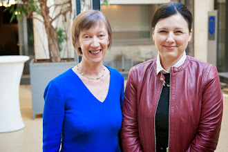 Photo: Evelyn Collins, Chair of Equinet and Vera Jourova, Commissioner for Justice, Consumers and Gender Equality