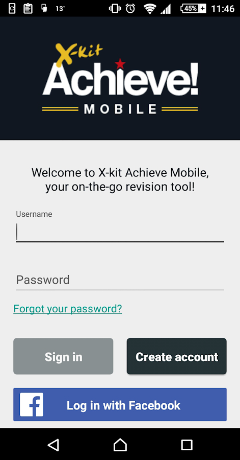 X-kit Achieve Mobile- screenshot