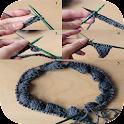 comment tricoter tutoriel icon