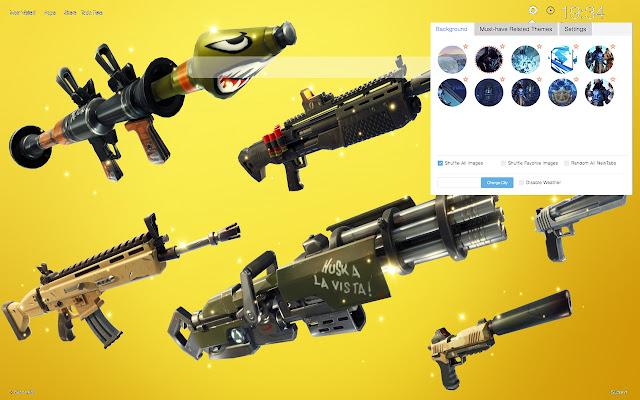 Fortnite Legendary Weapons New Tab