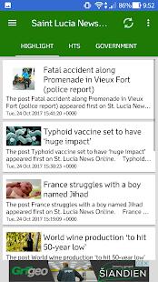 Saint Lucia News Radio TV - náhled