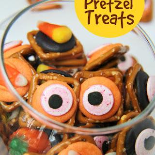 Halloween Pretzel Treats