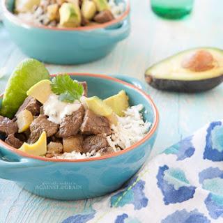 Crockpot Mexican Bison Stew.