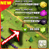 Pro Gems for CoC & Unlimited Coins App New (Prank)