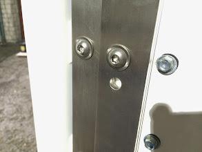 Photo: Hier ist das einzige Loch zu bohren. *** Here is to drill the one and only hole.