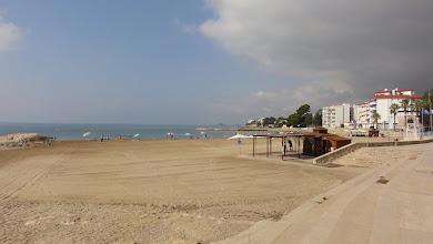 Photo: Early morning beach at St Carles de la Rapita