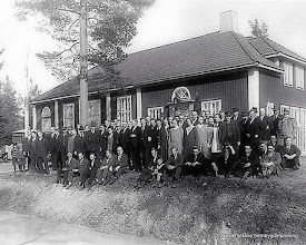 Photo: Vasselhyttans bygdegård 1930 NTO-möte