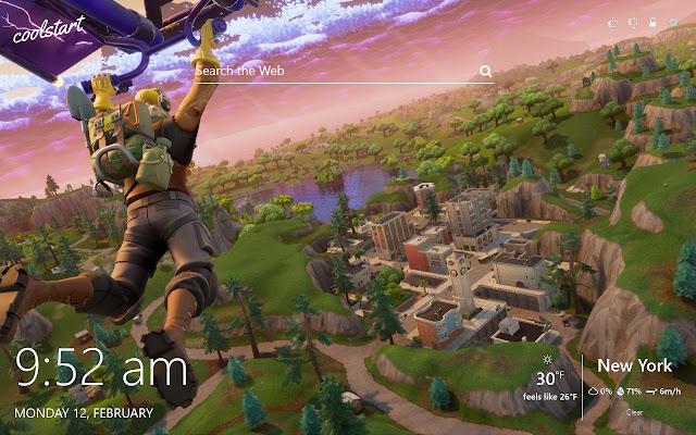 Fortnite Battle Royale HD Wallpapers Theme