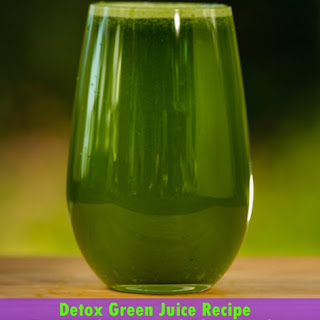 Detox Green Juice Recipe for Weight Loss and Glowing Skin Recipe