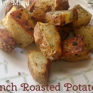Ranch Roasted Potatoes.