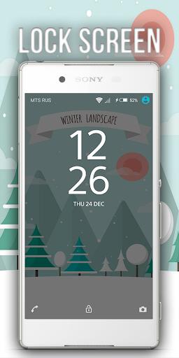 Theme XPERIEN™- Snow Winter