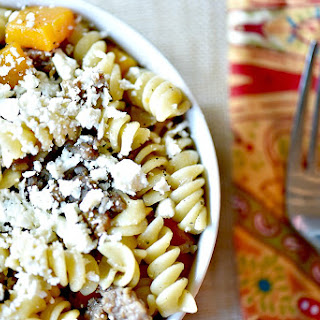 Butternut Pasta Feta Recipes