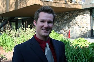 Photo: Jason Alexander - incoming 2009-2010 Chapter President
