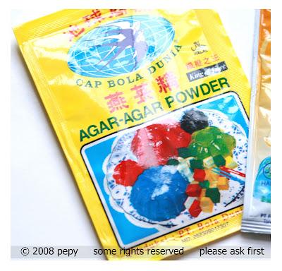 Whb konyaku and mango orange pudding zone food for Agar agar cuisine
