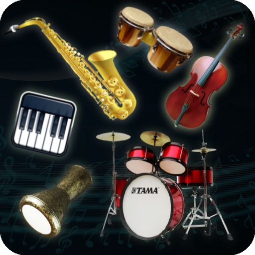 All instruments of music in one app