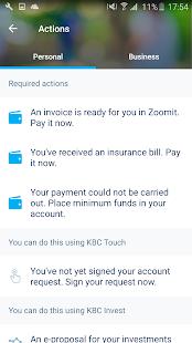 KBC Mobile Screenshot 2