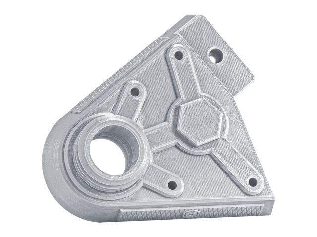 Metallic Silver PRO Series PLA Filament - 1.75mm (1kg)
