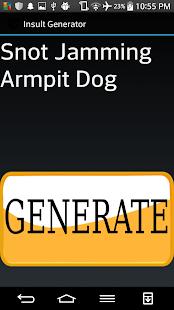 Insult Generator screenshot