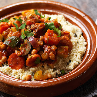 Vegetable And Chickpea Tagine.
