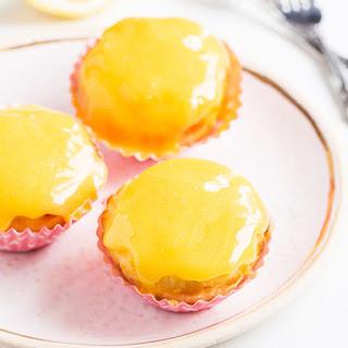 Lemon Curd Coconut Cupcakes