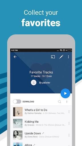 Deezer Music Player: Songs, Radio & Podcasts 6.0.3.44 screenshots 1