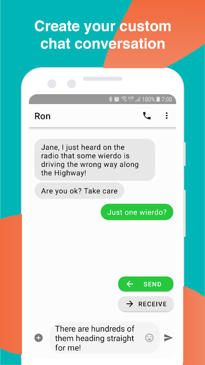 Fake Text Message APK Cracked Free Download | Cracked Android Apps