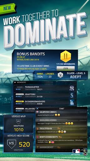 Télécharger Gratuit MLB Tap Sports Baseball 2019  APK MOD (Astuce) screenshots 4
