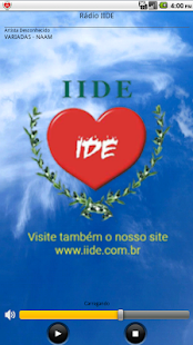 Rádio IIDE- screenshot thumbnail