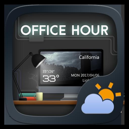 Office Hours GO Weather Widget