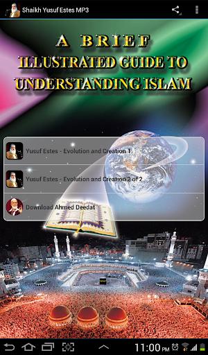 Shaikh Yusuf Estes MP3