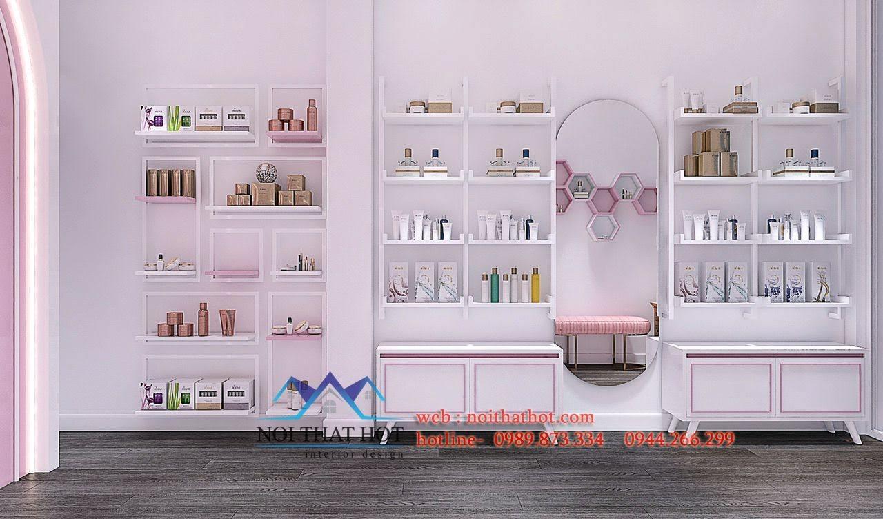 thiết kế shop mỹ phẩm nhỏ true 4