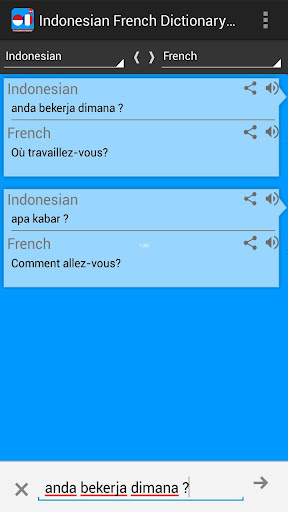Kamus Indonesia Perancis Pro