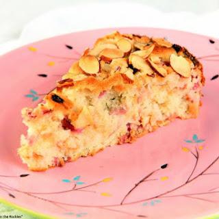 French Rhubarb Cake