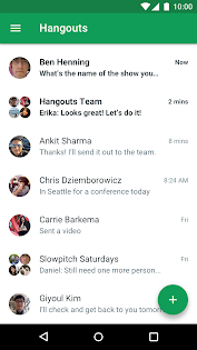 Android/PC/Windows 용 Hangouts 앱 (apk) 무료 다운로드 screenshot