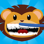 ANIMAL BRUSHING TEETH for kids