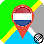 ✅ Netherlands Offline Maps with gps free APK icon