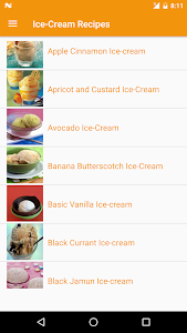 Ice-Cream Recipes screenshot 1
