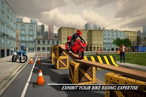 Rooftop Bike Rider Stunt Game - náhled