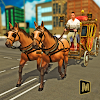 Mounted Horse Passenger Transport