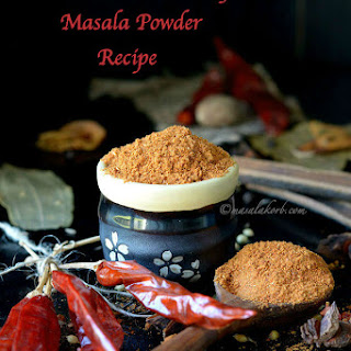 Homemade Pav Bhaji Masala Powder Recipe | How to make Pav Bhaji Masala at Home