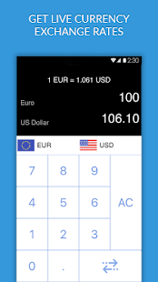 Currency Converter - live foreign exchange rates - náhled