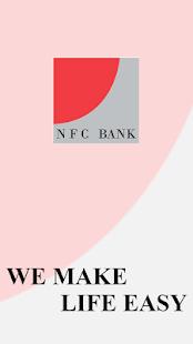 NFC Bank MobileBanking - náhled