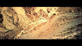 Fotograma de la película 'Fuel', de Israel González, rodada íntegramente en escenarios naturales de Tabernas. (Fotos: Nido Films)