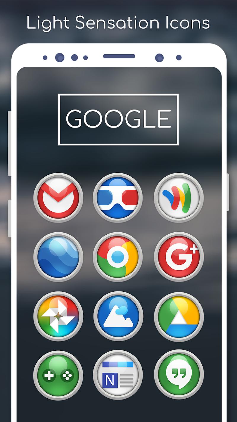 Light Sensation Icon Pack Screenshot 3