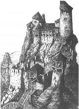 Photo: Rekonstrukcja zamku. Kosiński A.A: Miasta , wsie i zamki polskie . Wilno 1851 r